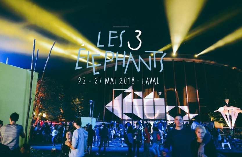 Report Les 3 éléphants 2018, Laval | Crédit photo : Alexis Janicot Montage : Jah