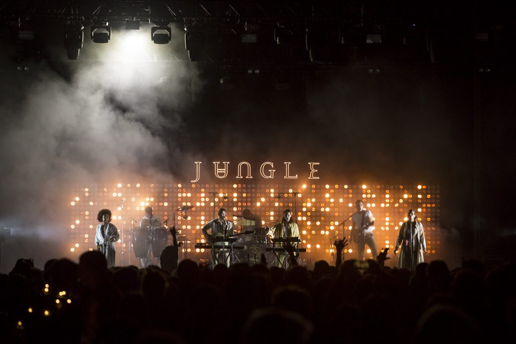 Jungle @ La Route du Rock Eté 2018 | Crédit photo : Nicolas Joubard | Alternative Lads