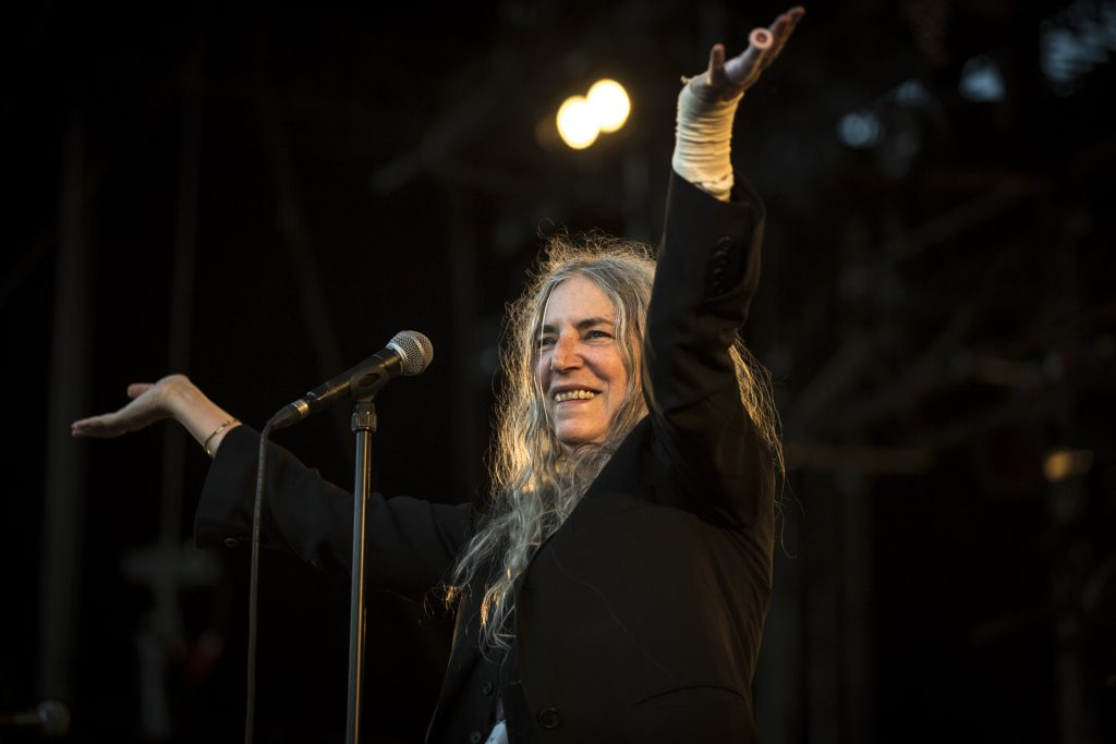Patti Smith @ La Route du Rock Eté 2018 | Crédit photo : Nicolas Joubard | Alternative Lads