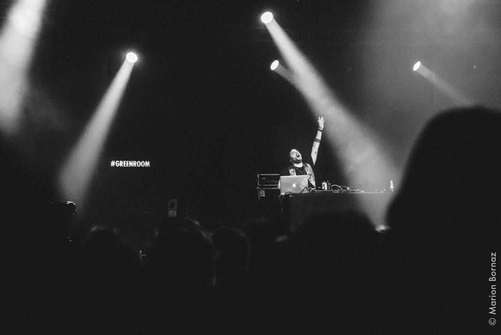 Bruno Belissimo @ Rencontres Trans Musicales 2018 | Crédit photo : Marion Bornaz