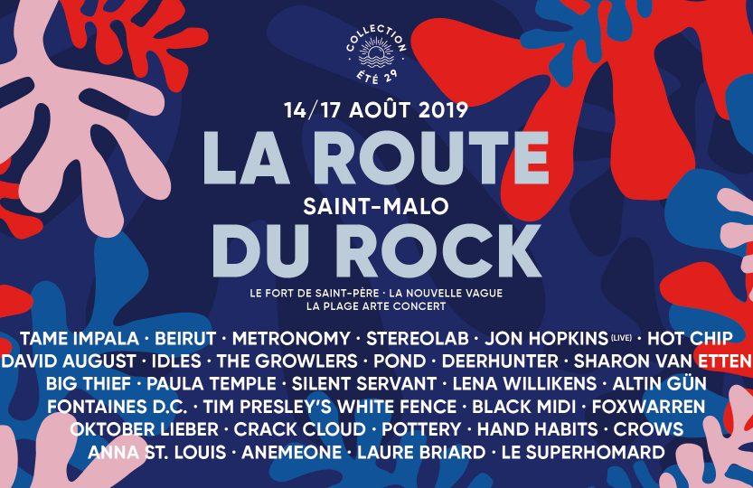 Route du Rock 2019 programmation